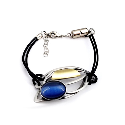 Christophe Poly Brass Moon Bracelet