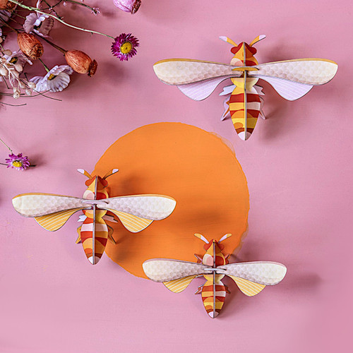 Honey Bees 3-D Wall Art