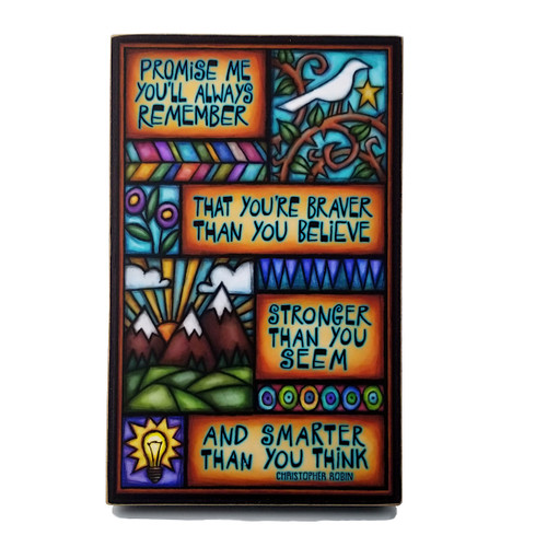 Wood Art Sign-Promise Me