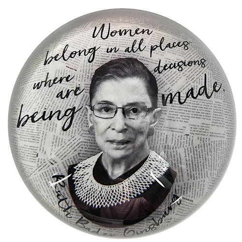 Paperweight - RBG Quote - Women Belong