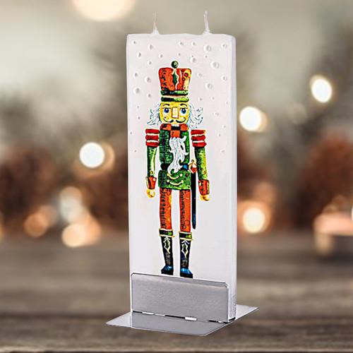 Flatyz Candle - Christmas Nutcracker
