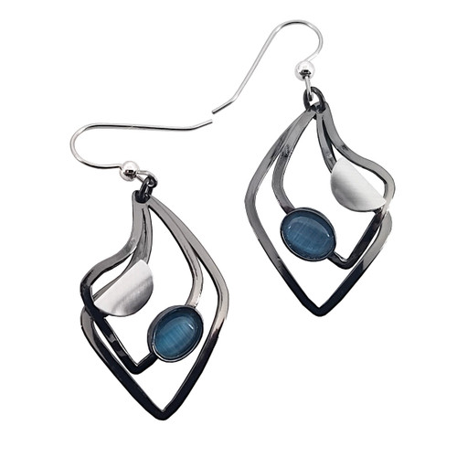 Christophe Poly Modern Teardrop Earrings
