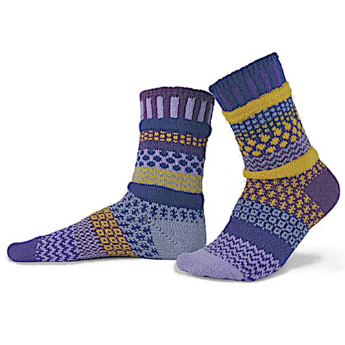 Solmate Socks - Purple Rain
