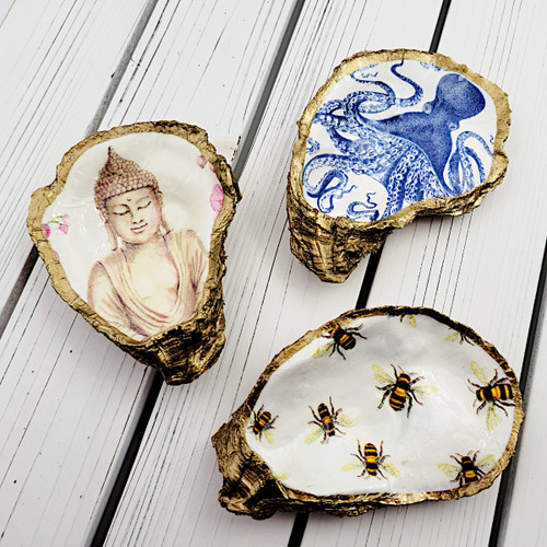 Decoupage Oyster Dish