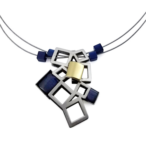 Christophe Poly Falling Fence Necklace