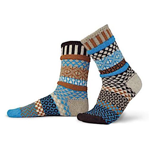 Solmate Wool Socks - Walnut