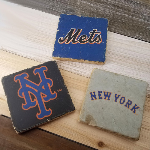 New York Mets Stone Coasters