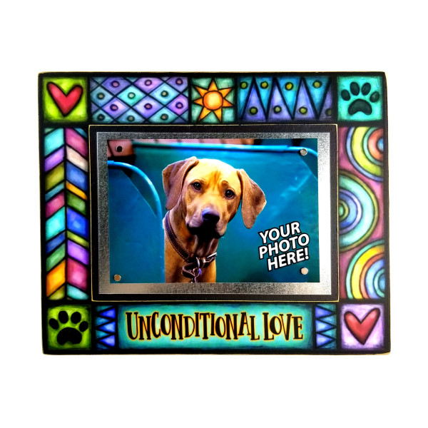 Wood Art Frame - Unconditional Love