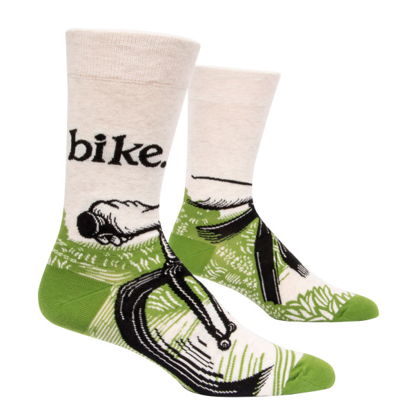Men's Socks - Bike Path