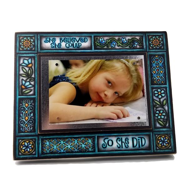 Wood Art Frames - She Believed