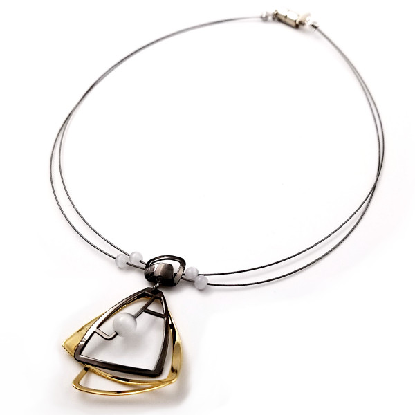 Christophe Poly Dancing Dames Necklace