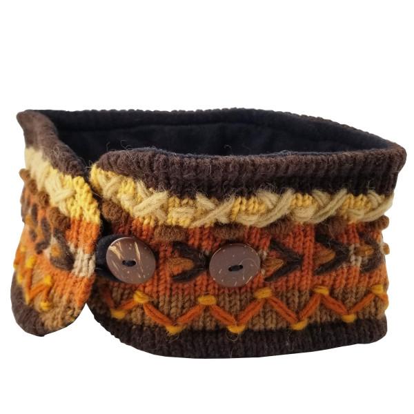 Hand-Stitched Wool Headband
