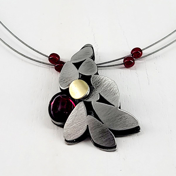 Christophe Poly Red Berry Necklace