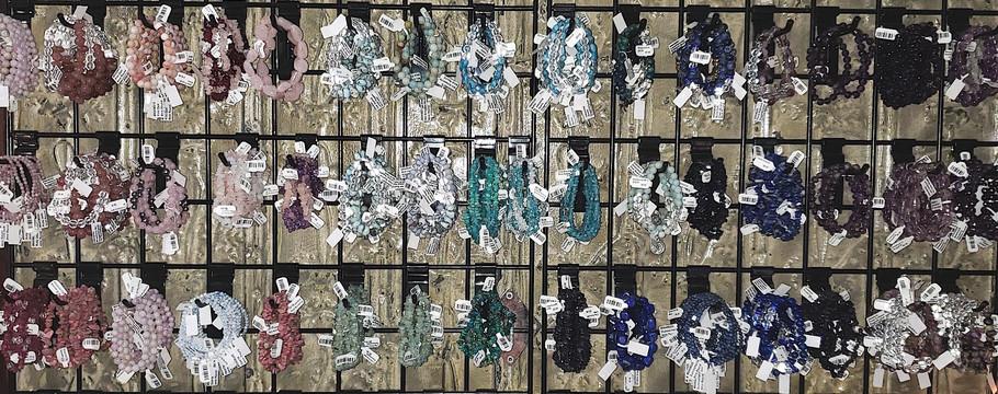 • Gemstone Bracelets