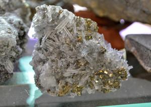 Quartz w/ Pyrite Peru