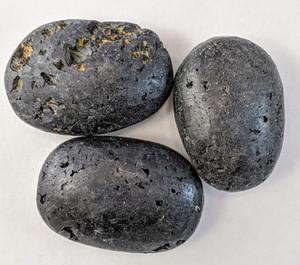 Black Tourmaline Palm stone Brazil