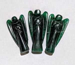 "Green Mica 3"" Angel"