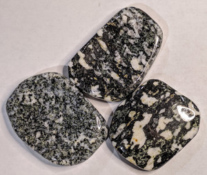 Black and White Granite Thought Stone
