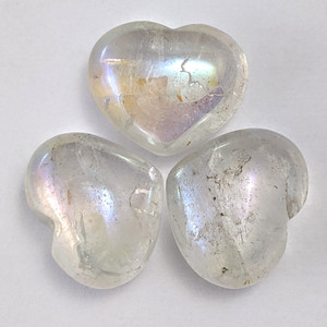 Angel Aura Quartz Heart