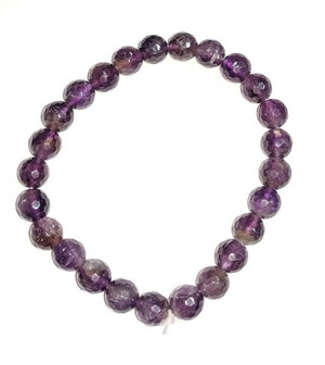 Amethyst 8mm faceted