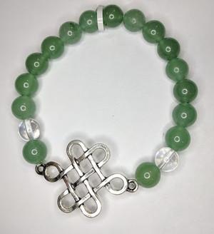 Green Aventurine w/ C Quartz