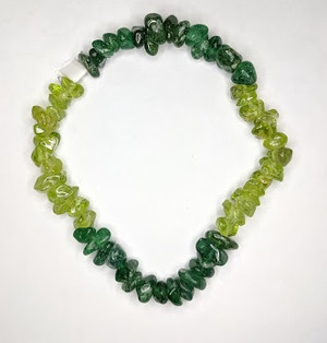 Green Aventurine and Peridot