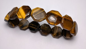 Tiger Eye Faceted 8mm