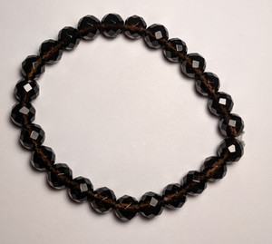Smoky Quartz 8mm Faceted