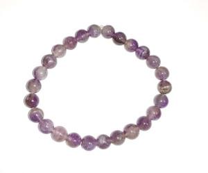 Amethyst 8mm bracelet