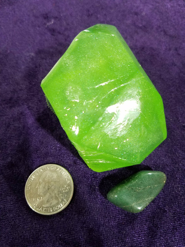 Crystal Soap Heart