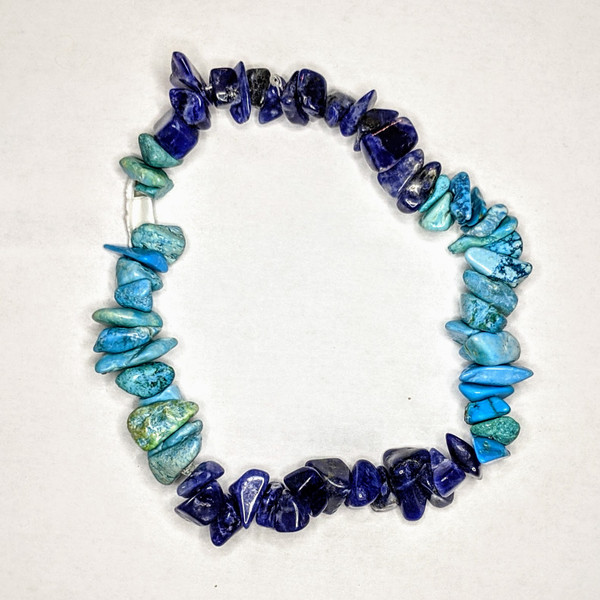 Turquoise and Sodalite