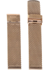 Xeric 22mm Rose Gold PVD Plated Mesh Strap (XS3021M-STRAP)
