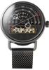 Halograph Automatic Mesh Gunmetal (HLG-3017M) front