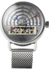 Halograph Automatic Mesh Silver (HLG-3016M) front
