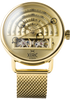 Halograph Automatic Mesh All Gold (HLG-3020M) front