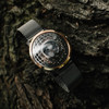 Trappist-1 Moonphase Rose Gold Mesh (TMP-3018-MESH)