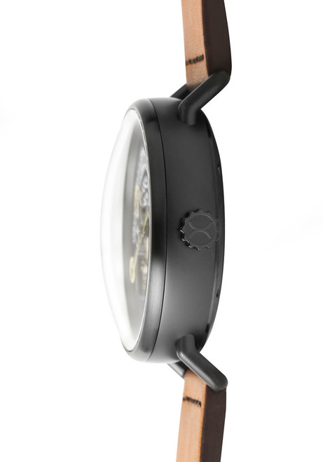 XERIC Halograph Automatic Black Tan (HLG-3015)