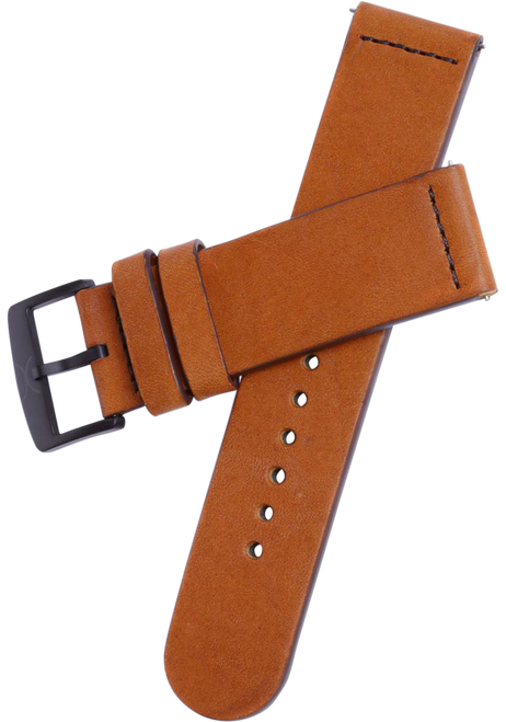 Xeric 22mm Smooth Saddle Leather Strap (HLG-3015-STRAP)