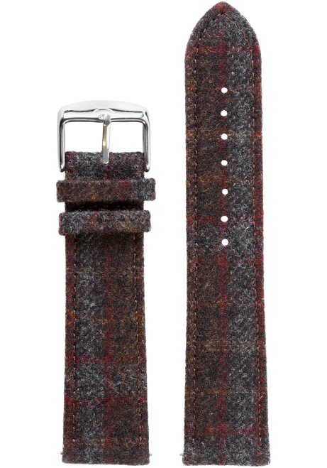 Xeric Savile Row 20mm Chestnut Red Tartan (XRC-SRS-20-010)