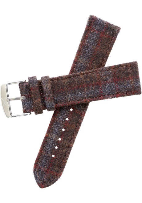 Xeric Savile Row 22mm Chestnut Red Tartan (XRC-SRS-22-010)