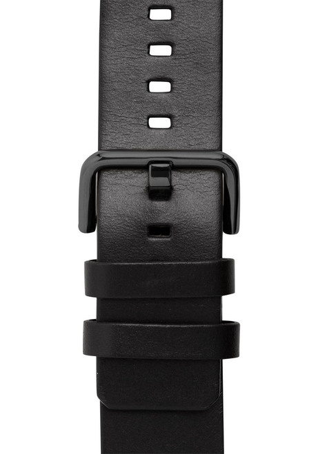 Xeric 24mm American Horween All Black Leather Strap (XRC-SOLO-24-BKBK)