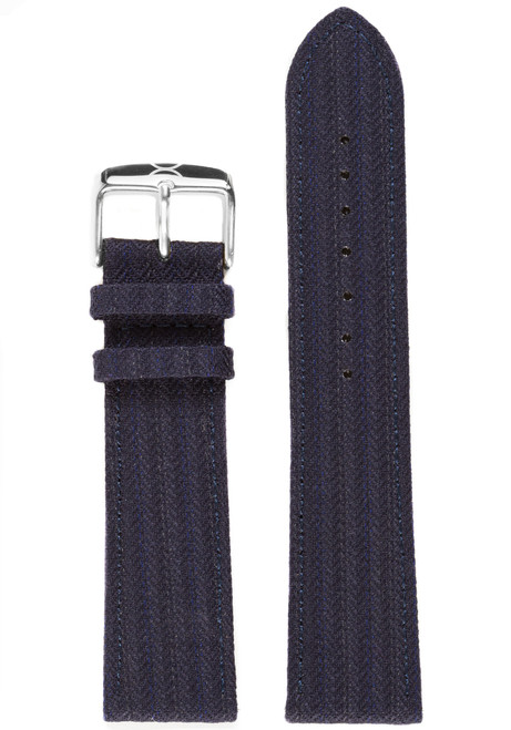 Xeric Savile Row 20mm Navy Classic Worsted (XRC-SRS-20-NVCW)