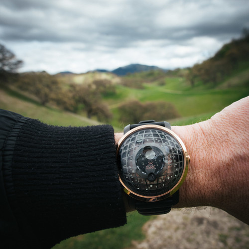 Trappist-1 Moonphase Rose Gold (TMP-3018)