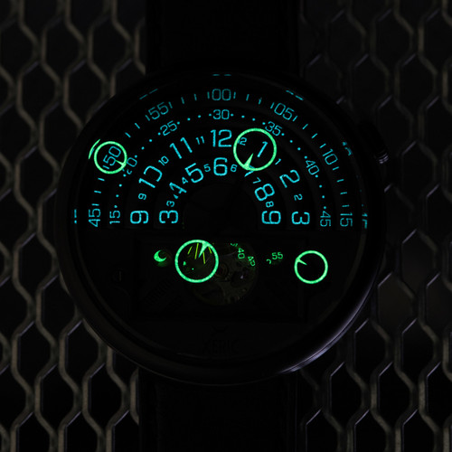 Halograph II Automatic Limited Edition All Black (HGA-3332-03L)