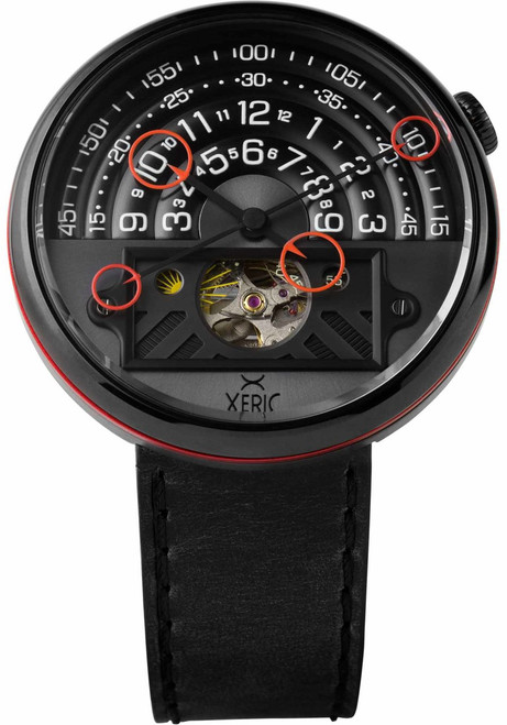 Xeric Halograph II Automatic All Black Limited Edition (HGA-3332-03L)