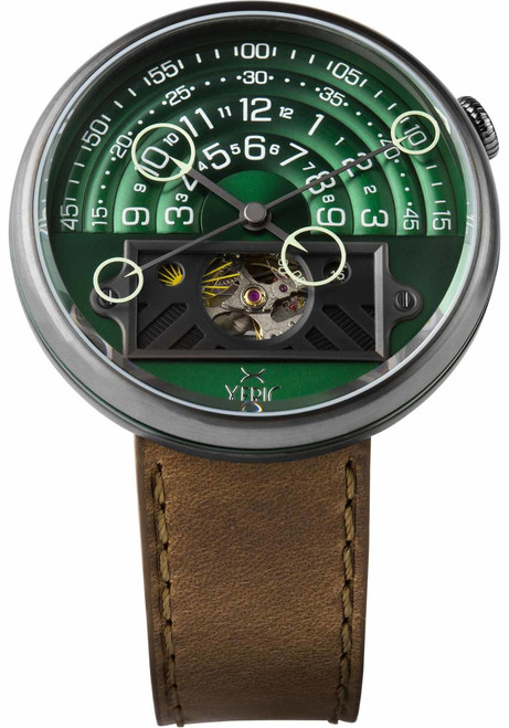 Halograph II Automatic Limited Edition Green Brown (HGA-2299-06L)