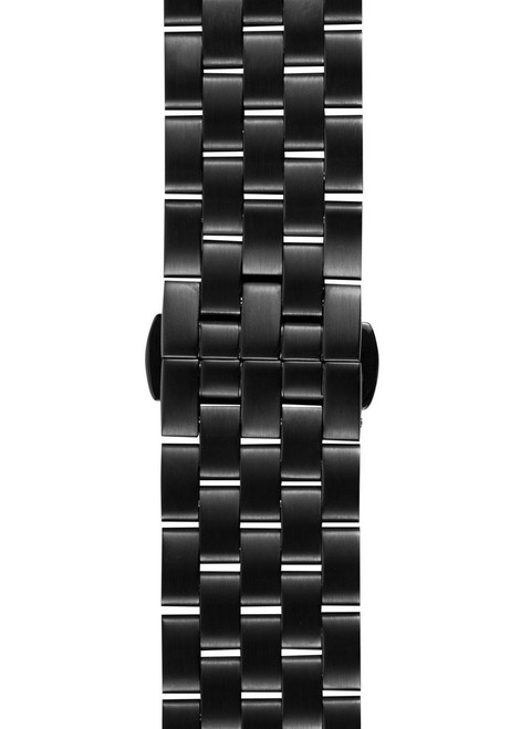 Xeric 22mm Black Stainless Steel Strap (XRC-BRSS-22-BKBK)