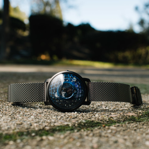 Trappist-1 Moonphase Blue IP Mesh (TMP-3019-MESH)