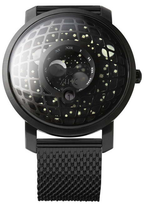 Trappist-1 Moonphase Black Hole Mesh (TMP-3015-MESH) front