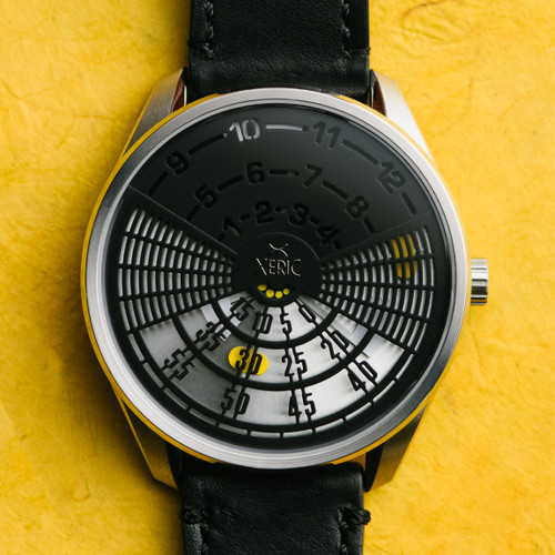 Xeric Decypher Automatic Black Yellow Limited Edition (DCP-1131-03L)